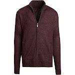 Alta Men's Casual Long Sleeve Full-Zip Mock Neck Sweater