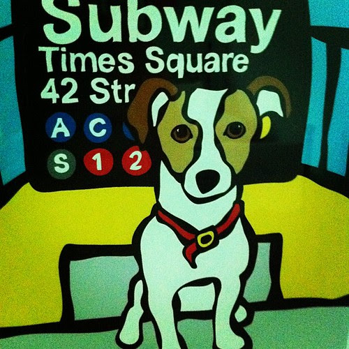 {Day 5} Subway #Sign Boomer in L's nursery #junephotoaday #catchup