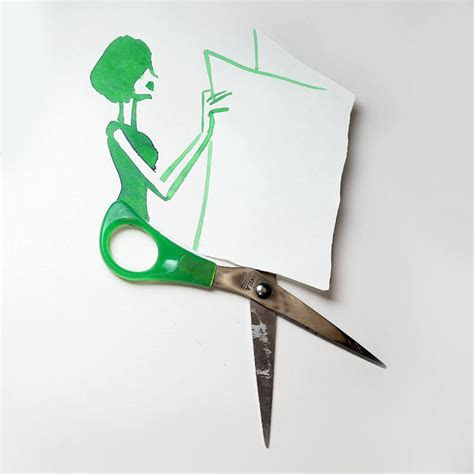 creative drawings completed  everyday objects