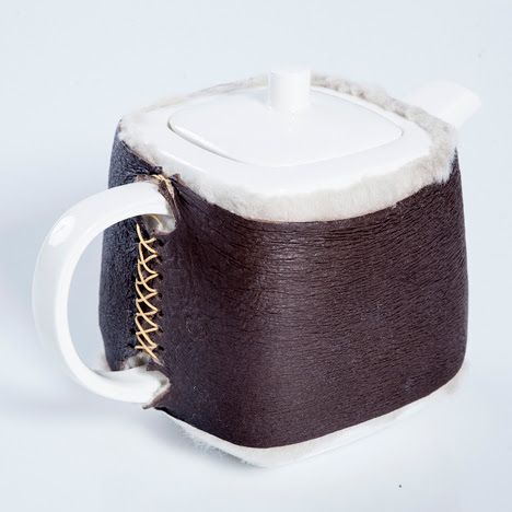 Hlutagerðin recreates ancient Icelandic armour for tea cosy
