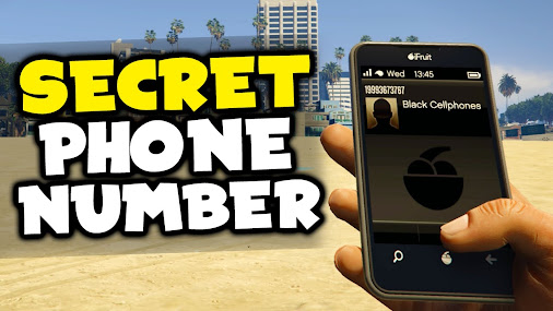 Gta 5 secret phone number black cellphones easter egg for Furniture 7 phone number