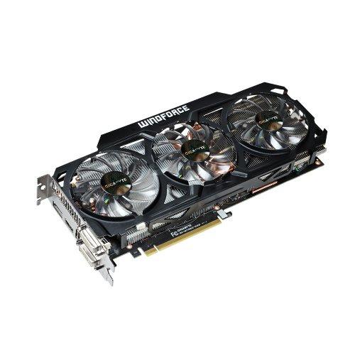 Image result for Gigabyte GTX 770 GDDR5-2GB 2xDVI/HDMI/DP OC WINDFORCE 3X Graphics Card GV-N770OC-2GD
