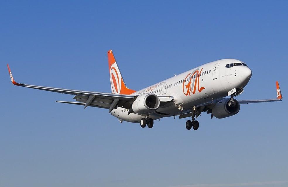 Avião da Gol durante voo  (Foto: Igor Santorsula / Plane Spotters )