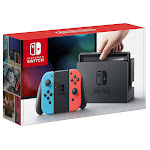 Nintendo Switch Bundle with 12 Month Online Family Plan and Case