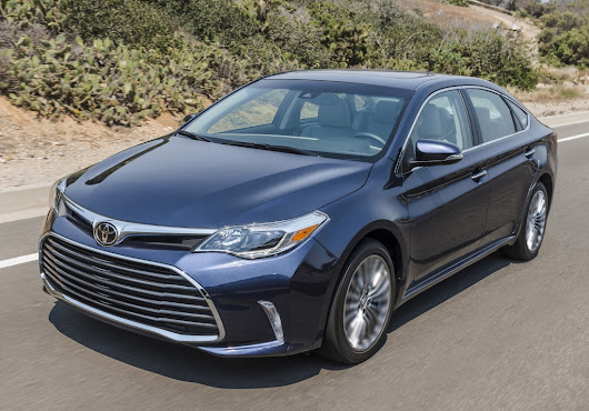Toyota's Avalon sedan has lots of amenities, and also comes in a gasoline-electric hybrid