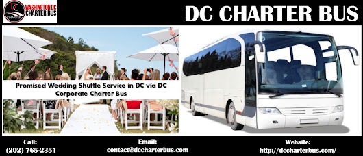 Promised Wedding Shuttle Service in DC via DC Corporate Charter Bus | dc-charter-bus