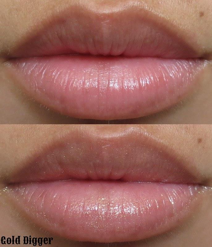 Venomous Cosmetics Gold Digger Lip Swatch
