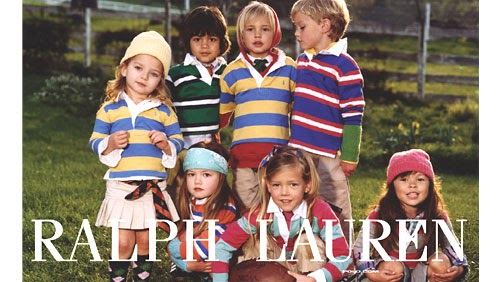 Polo Ralph Lauren Some Are Very Ralph Lauren Children Ads