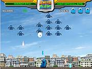 Jogar Monsters vs alien gallaxhar invades Jogos