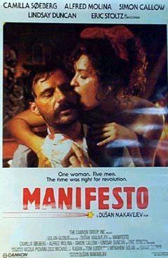 Resultado de imagem para manifesto dusan makavejev poster