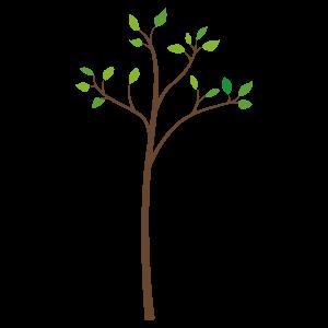 ちいさな木 花植物イラスト Flode Illustration フロデイラスト