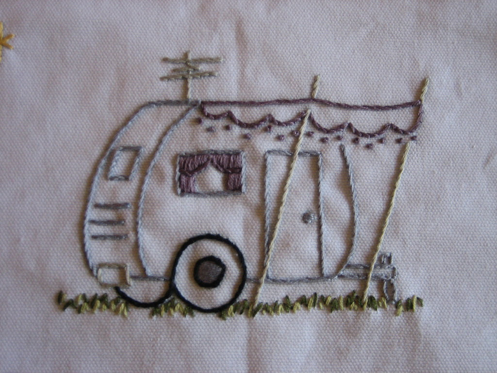 Embroidery - Air Stream