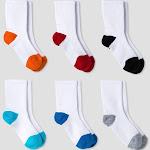 Cat & Jack Toddler Boys' Athletic Crew Socks