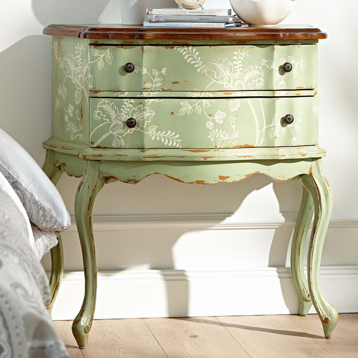 console #shabby  #cottage  #country  #interiors  #furniture #green