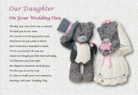 OUR DAUGHTER on your WEDDING DAY   personalised gift   eBay