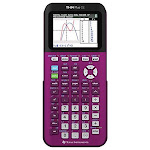 Texas Instruments TI-84 Plus CE Plum Graphing Calculator - Unlimited Cellular
