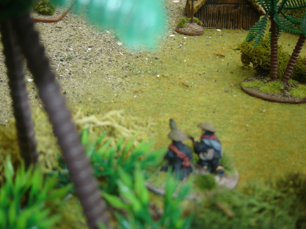 VC Machine Gun team takes fire before it can set up