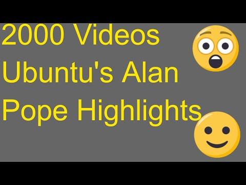 2000th Video - Ubuntu's Alan Pope Highlights