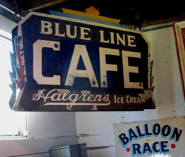 Blue Line Cafe