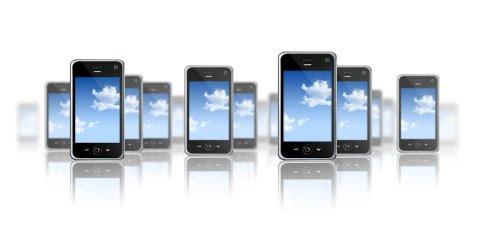 Crescimento no número de smartphones