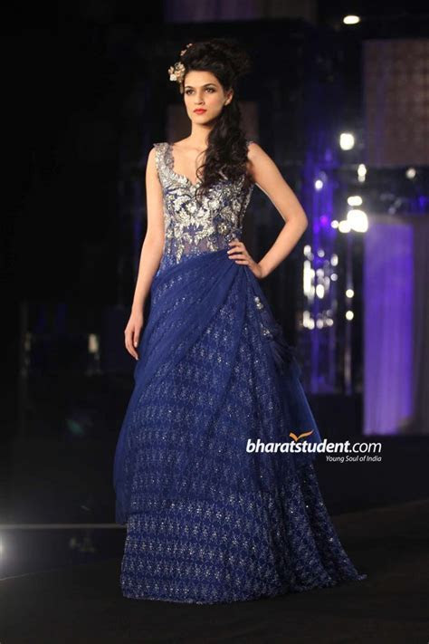 Stunning blue indian gown for reception   Brides   Indian