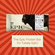 Epic Protein Bar Review - Paleo Bar Chart