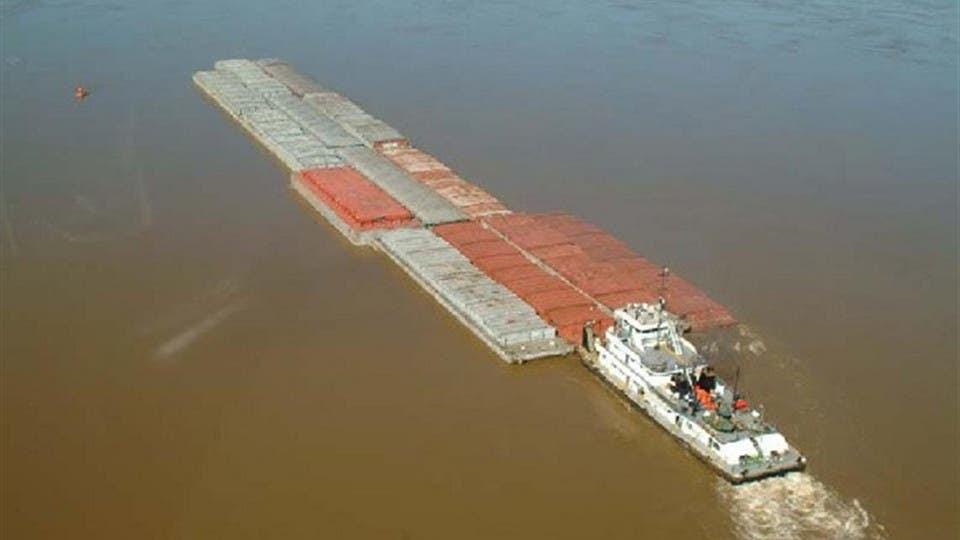 La hidrovía Paraná-Paraguay es una ruta fluvial clave para el traslado de la producción agropecuaria foto: Archivo