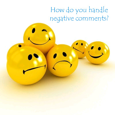 Moderating negative comments takes a one-on-one approach