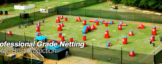 PaintballNetting.com - Leading Paintball Netting and Paintball Field Equipment Supplier offering Paintball Turf, Paintball Compressors, and Paintball Pole Systems