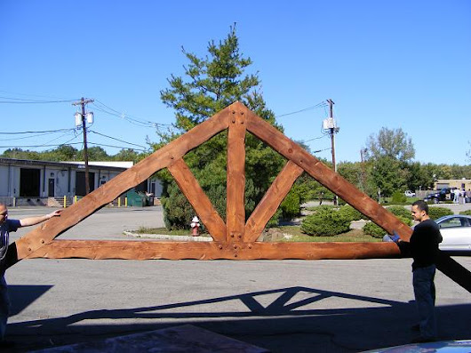 Heavy Timber Truss Designs, Structural Wood Roof Truss Manufacturing, Custom Truss Fabrication, NYC, NJ, CT, LI, PA