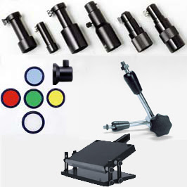 Microscope Fiber Optic Lighting Accessories