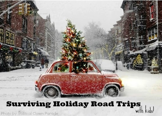Surviving a Winter Holiday Road Trip with Kids - Trekaroo
