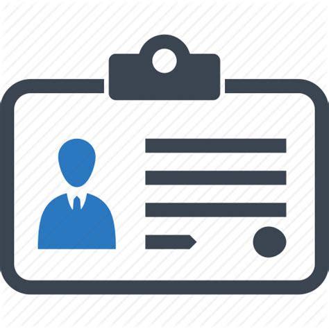 business id identity card icon