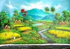 Gambar Pemandangan Gunung Hd