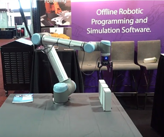 Video: Simulation Replaces Iteration in Robot Programming