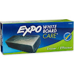 Expo Whiteboard Dry Eraser, Charcoal Gray