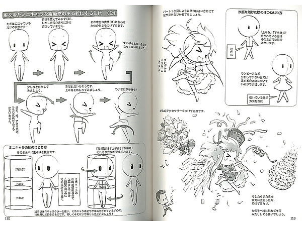 How to draw Moe Mini Character (Face & Body) by Hobby ...