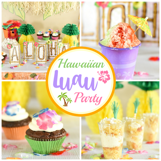 Hawaiian Luau Party Ideas – Fun-Squared