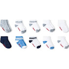 Hanes Toddler Boys' 10pk Ankle Socks - Colors Vary 4T-5T, Boy's, Multicolored