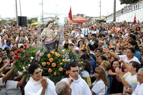 A Arquidiocese de Natal espera para hoje o comparecimento em torno de 40 mil fiéis na procissão de Nossa Senhora da Apresentação