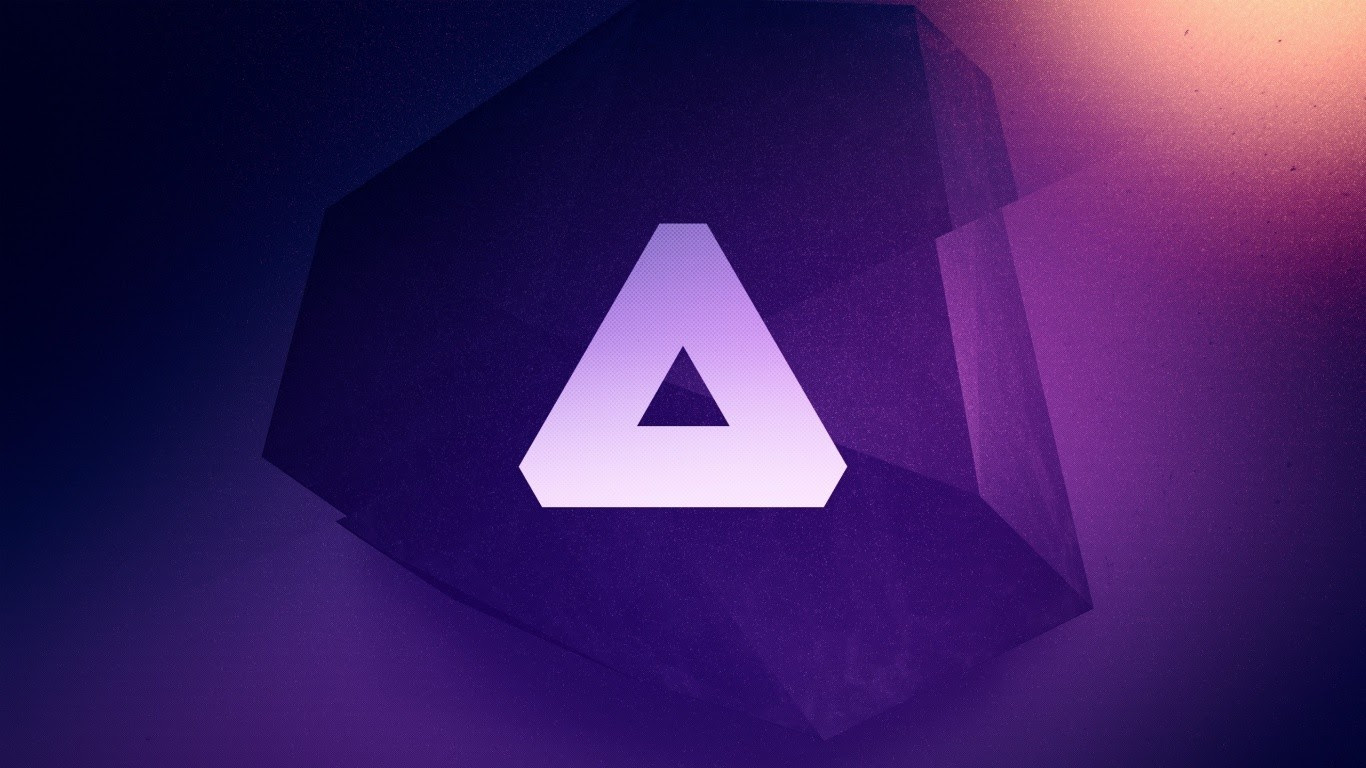Triangle, Logo, Purple wallpaper | brands and logos ...