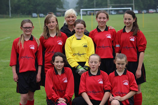 Ledbury Swifts host under 12s girls tournament - Belmont Wanderers Football Club