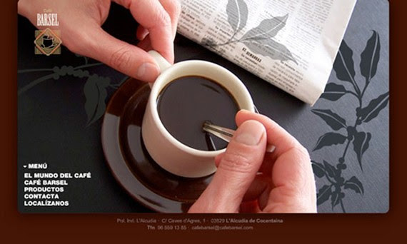 cafe barsel coffee websites 30 Sitios web sobre café para inspirarte