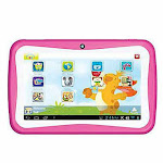 Supersonic SC-774KT PINK 7 in. Munchkins Android 5.1 Quad - Core 4GB Kids Tablet - Pink