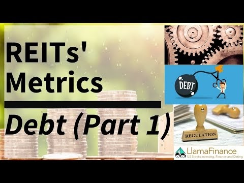 LlamaFinance REIT Metrics Vol 1 - Debt (Ft. Gearing + Debt maturity prof...