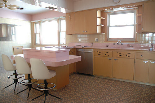 1962 GE time capsule kitchen - for sale - Retro Renovation
