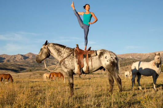 Yoga on Horseback Is Real and You Can Try It in Spain