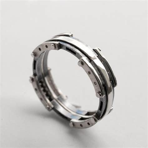 Platinum Wedding Band, Men's Platinum And Oxidized Silver