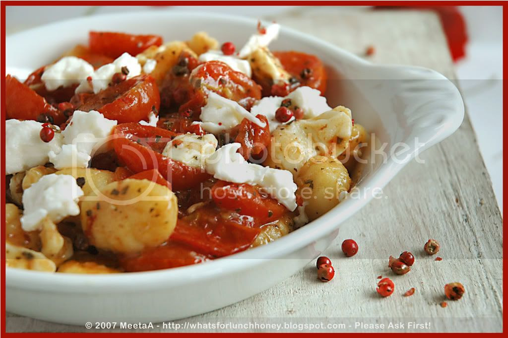 Caramelized Tomatoes Gnocchi (06) by MeetaK