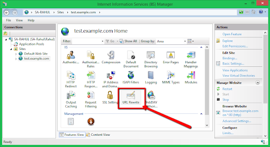 How to Set Up Reverse Proxy Using IIS with URL Rewrite | TecAdmin